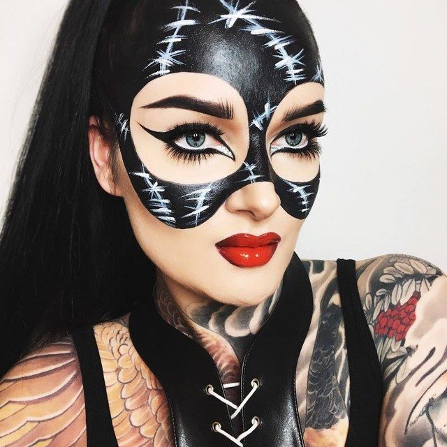 Trucco Halloween Catwoman.95 Of The Most Jaw Dropping Halloween Makeup Ideas On Instagram