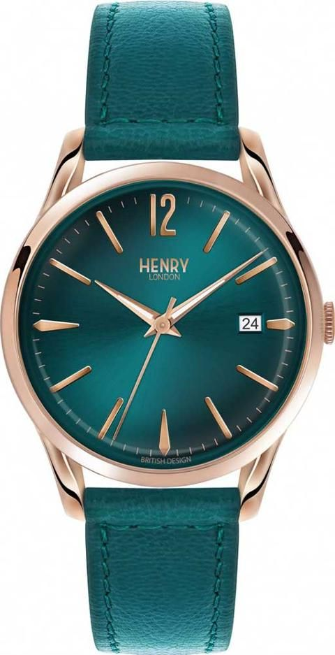 03bb3e1f31c2 Henry london stratford watch #Green #henrylondon #Watches #TheJewelHut # Women #fashion #obsessory #fashion #lifestyle #style #myobsession