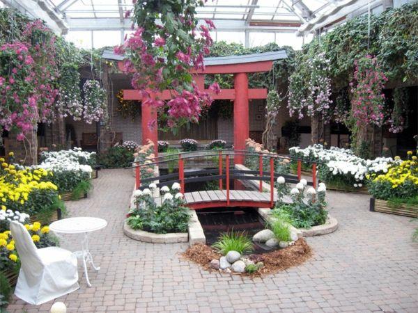wintergarten selber bauen japanischer garten Traumgärten Pinterest