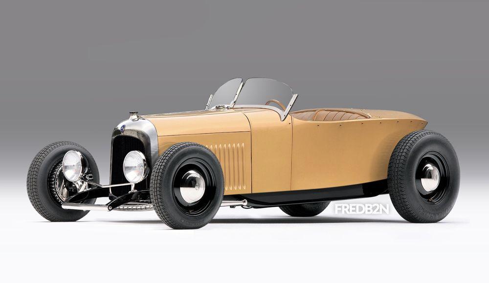 Projekt Hot Rod Citroën B2 1923 (just photomontage, but imagine if ...