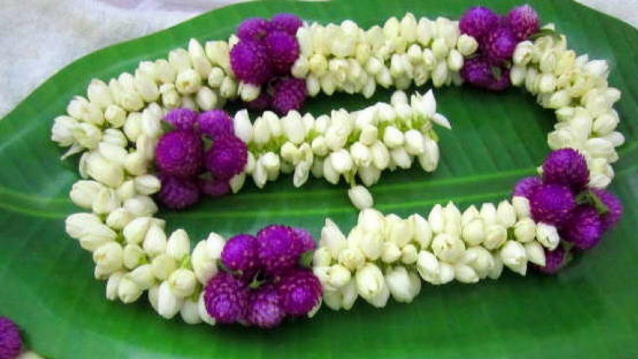 Easy Method To Make Jasmine Garland How To Make Flower Garland