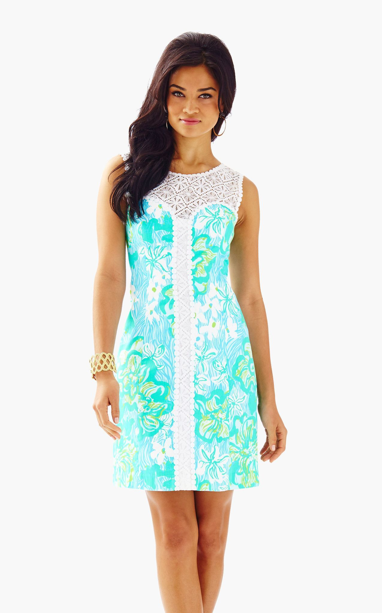 b3beffd754f6e4 Sofia Shift in Lagoon Green Wave Rider | Dresses | Dresses, Lace ...