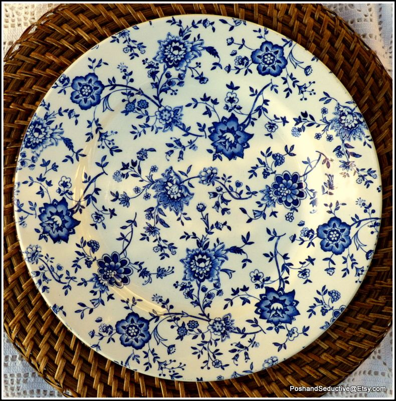 Carefully selected rare and well sought after china plates