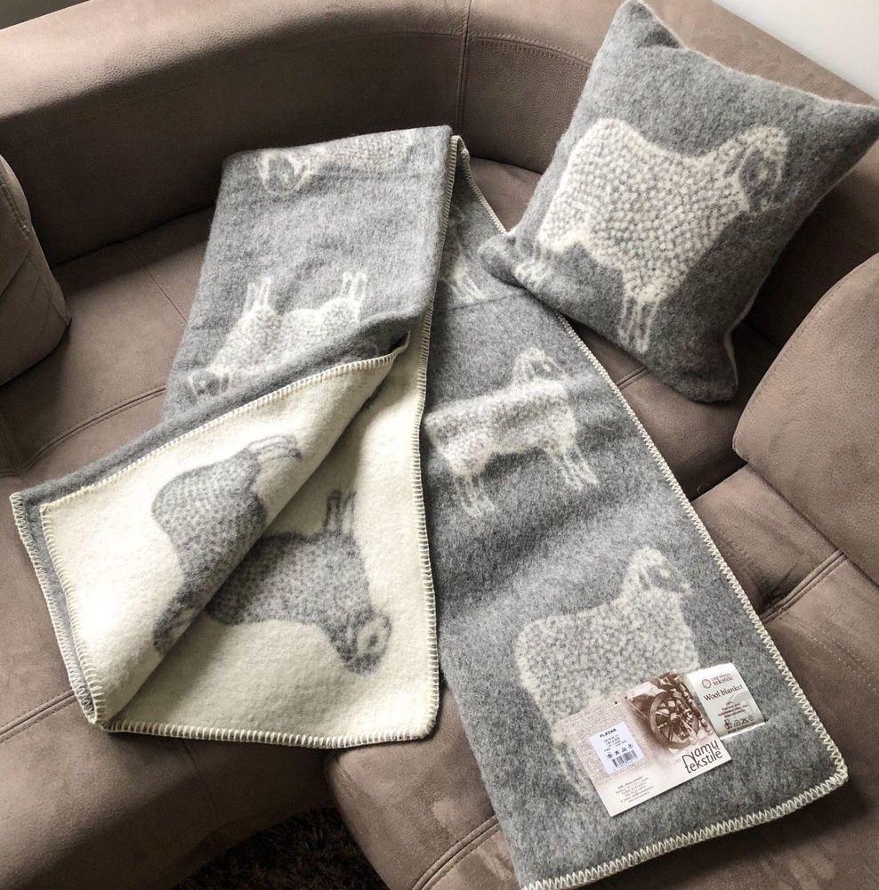 Naturlichen 100 Neuseeland Wolle Decke Uberwurf Plaid Weich Warm