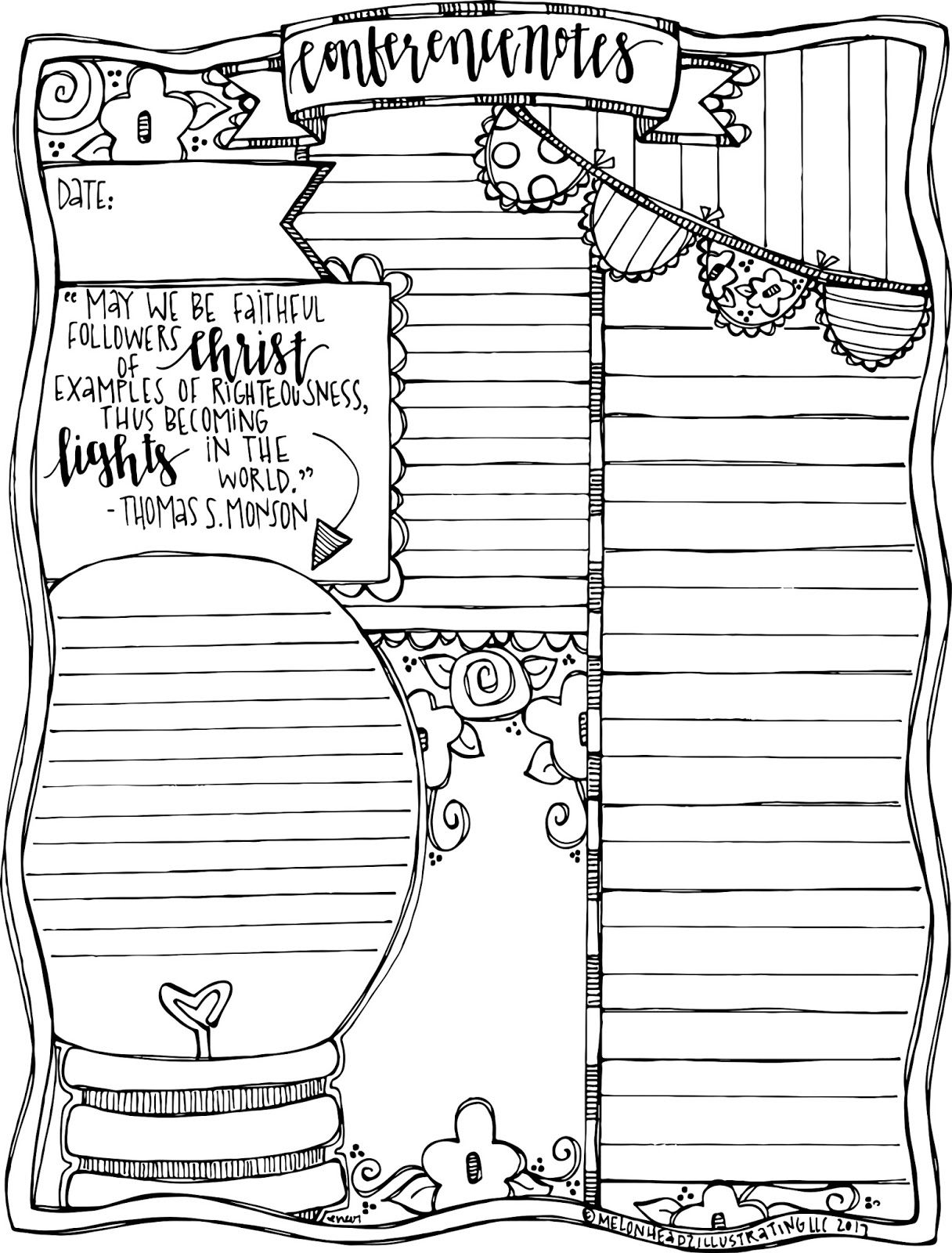 General Conference Note Taking Pages General Conference Notes Lds General Conference Notes General Conference Activities