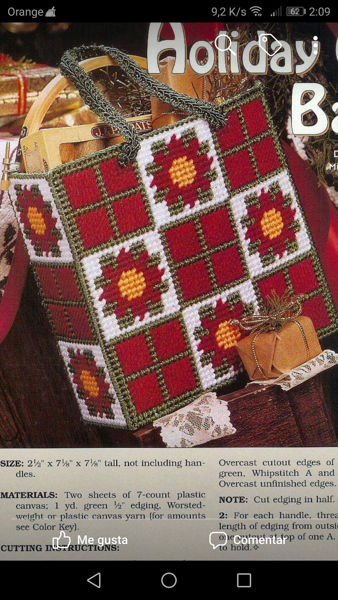 Pin by Cindy Plaster on Christmas 34 Plastic canvas