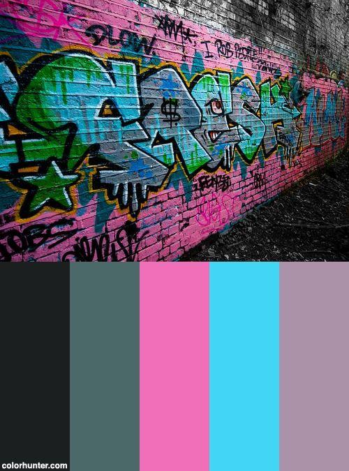 Graffiti Color Scheme in 2019