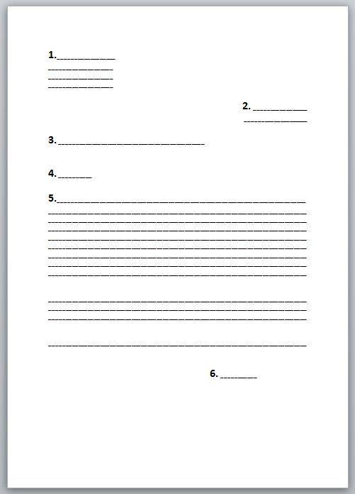lettre de motivation word ou manuscrite