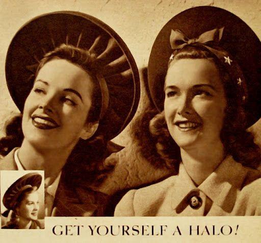 vintage 1940s Chapeaux Coiffes 1940s hats, Fashion et