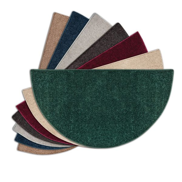 Flame Half Round Polyester Fireplace Hearth Rugs 4 Midnight Blue Fireplace Hearth Hearth Diy Fireplace Mantel