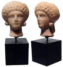 Resultado de imagen de terracotta female head
