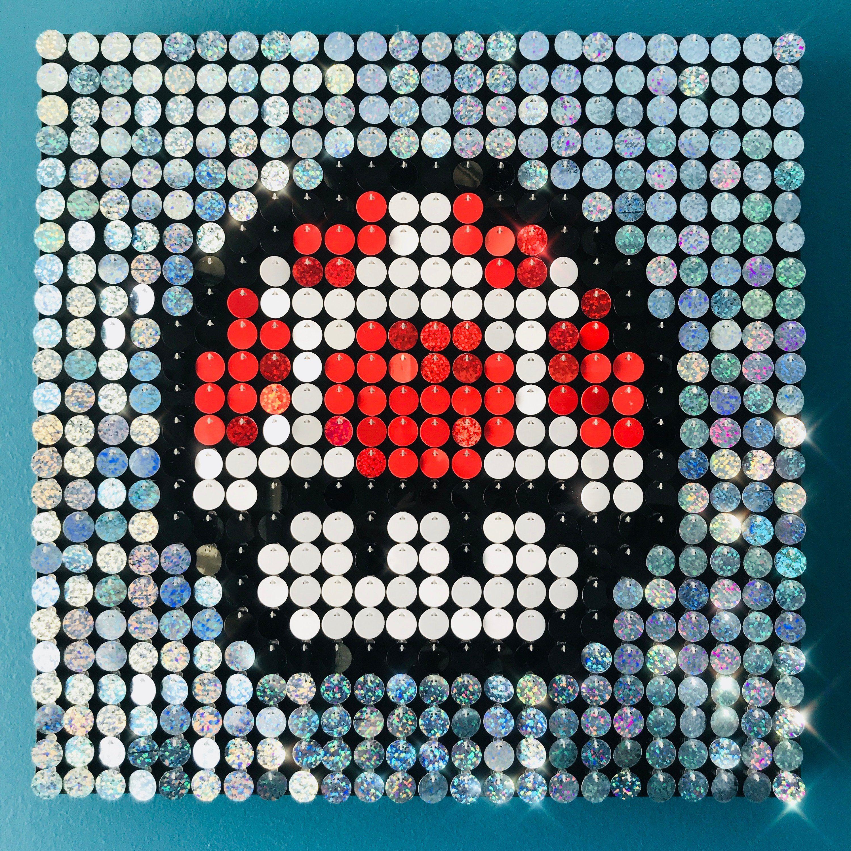 Mini Mushroom Pixel Art Gallery Of Arts And Crafts