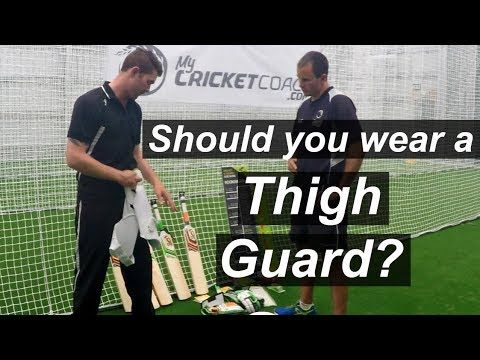 Do you Need to Wear a Thigh Guard? Cricket Tips - (More info on: https://1-W-W.COM/Bowling/do-you-need-to-wear-a-thigh-guard-cricket-tips/)
