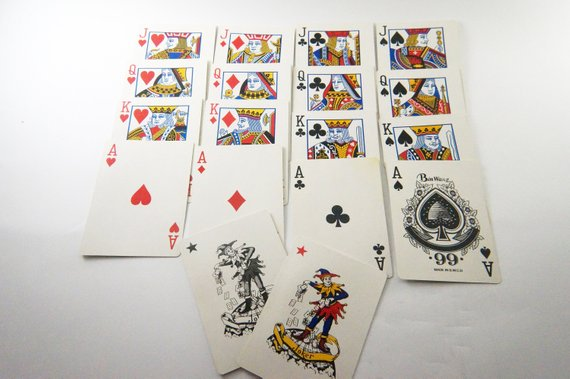 Playing Cards Deck Old Playing Cards Vintage Playing Cards Vintage