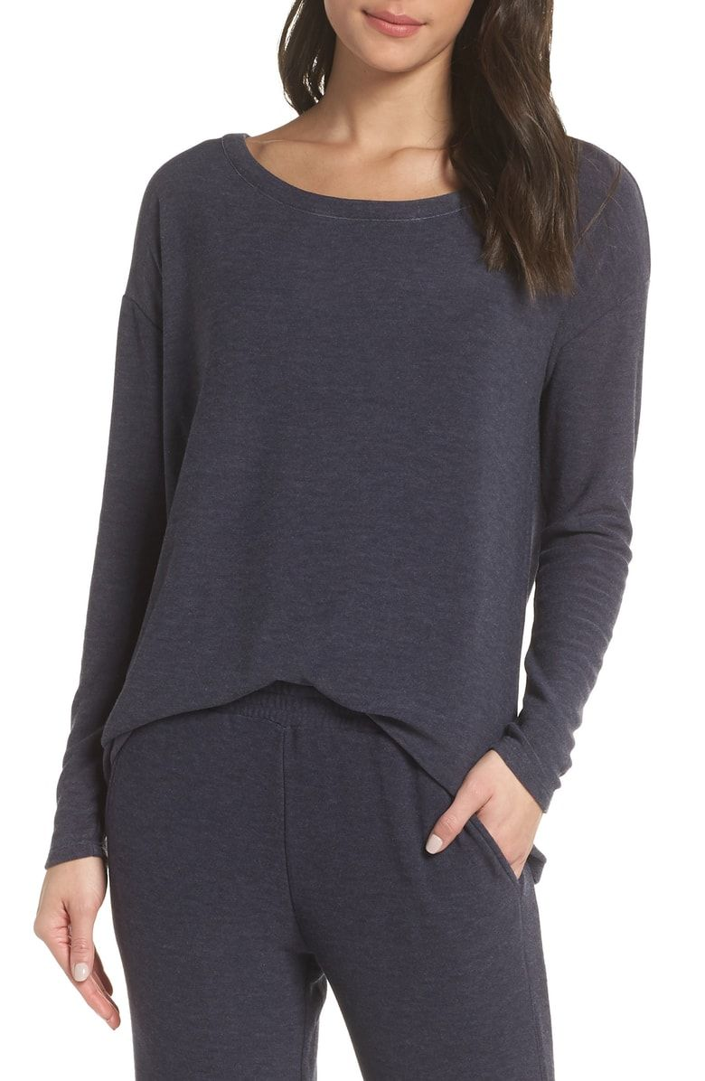 b966ab8ae Free shipping and returns on Chaser Raglan Pullover at Nordstrom.com. Love  your loungewear with this unbelievably soft pullover, ideally suited to be  part ...