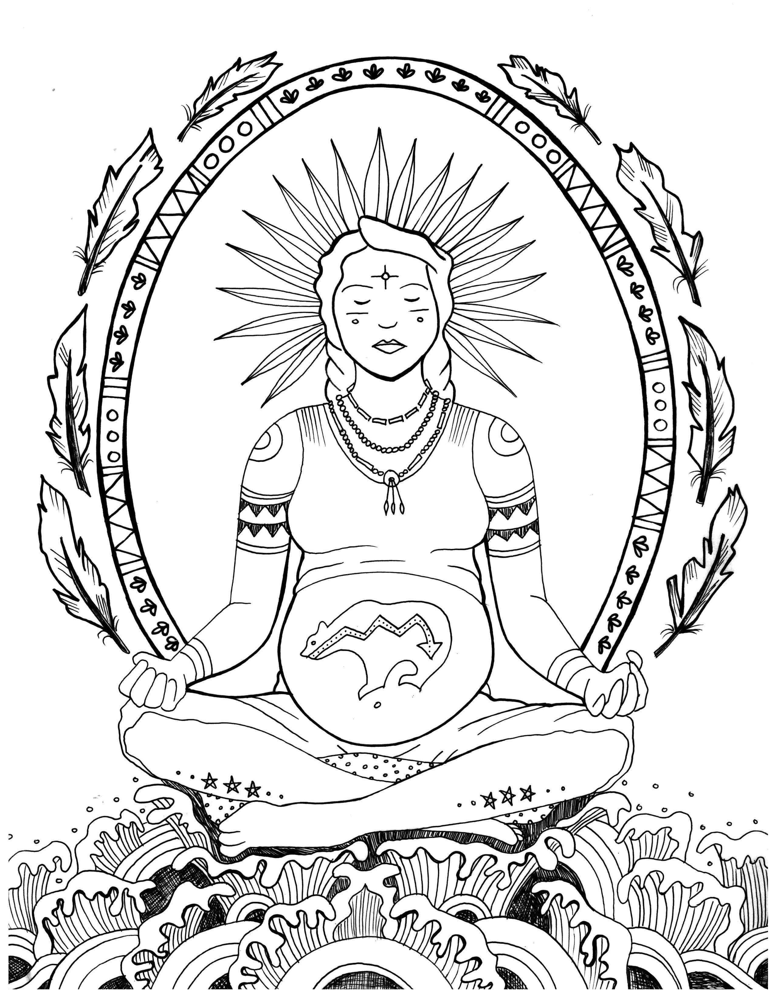 Free Pregnancy Coloring Pages | Pregnancy, Free and Birth
