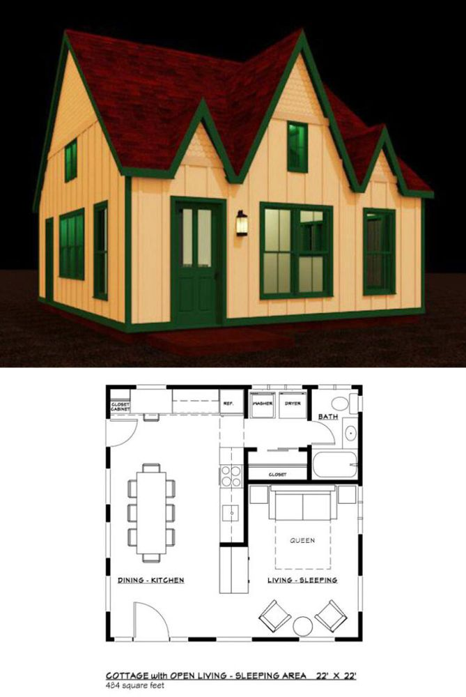 27 adorable free tiny house floor plans tiny house floor on best tiny house plan design ideas id=77620