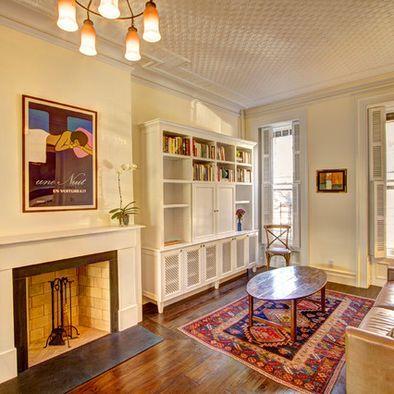 Benjamin Moore Mayonnaise Living Room New York Hgtv Living Room Eclectic Living Room