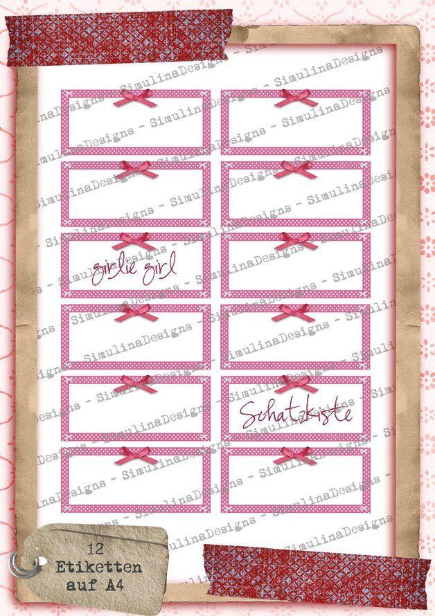 Etiketten Etiketten Aufkleber Sticker A4 Ein