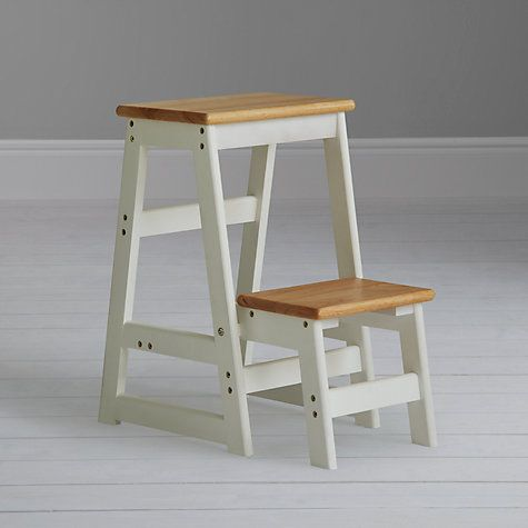 Buy House By John Lewis Fixed Wooden Step Stool Online At Johnlewis.com