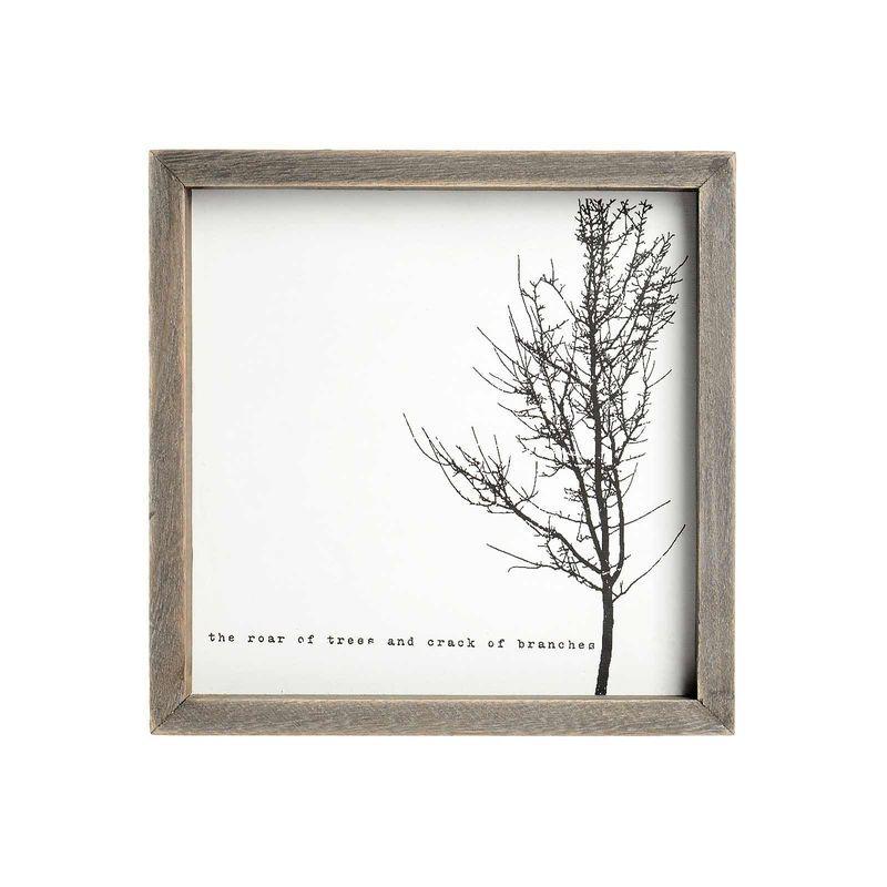 Bild Baum Paulownia-Holz weiß ca B:24 x L:24 cm