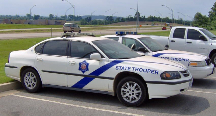 Arkansas State Police Impala State police, Arkansas