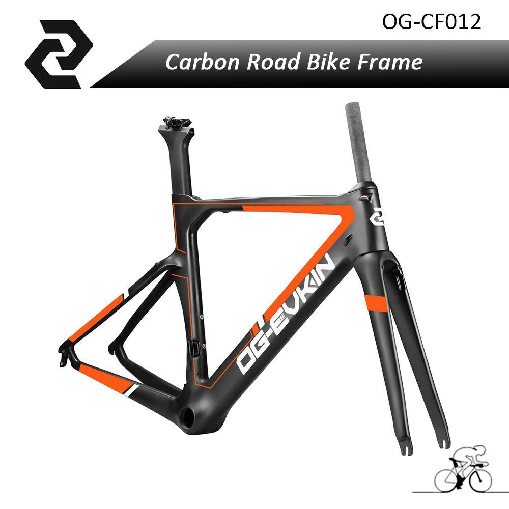 OG-EVKIN New arrvial full carbon road bike frame light weight BB386 ...