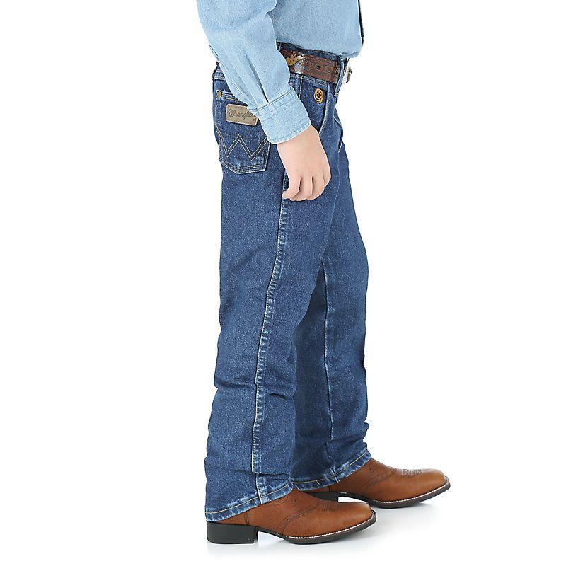 91e6aa829e6 Boy s George Strait Cowboy Cut® Collection by Wrangler® Original Fit ...