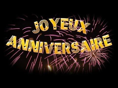 Bon Anniversaire Chanson Joyeux Anniversaire En Francais Et Joyeux