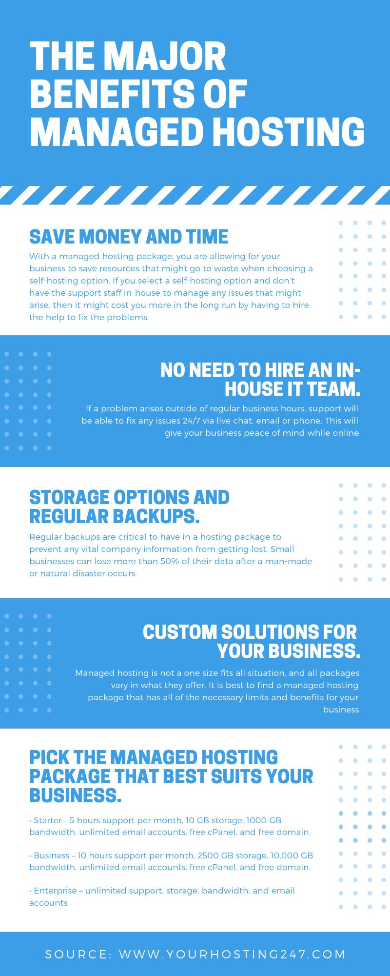 The Major Benefits of Managed Hosting Website hosting