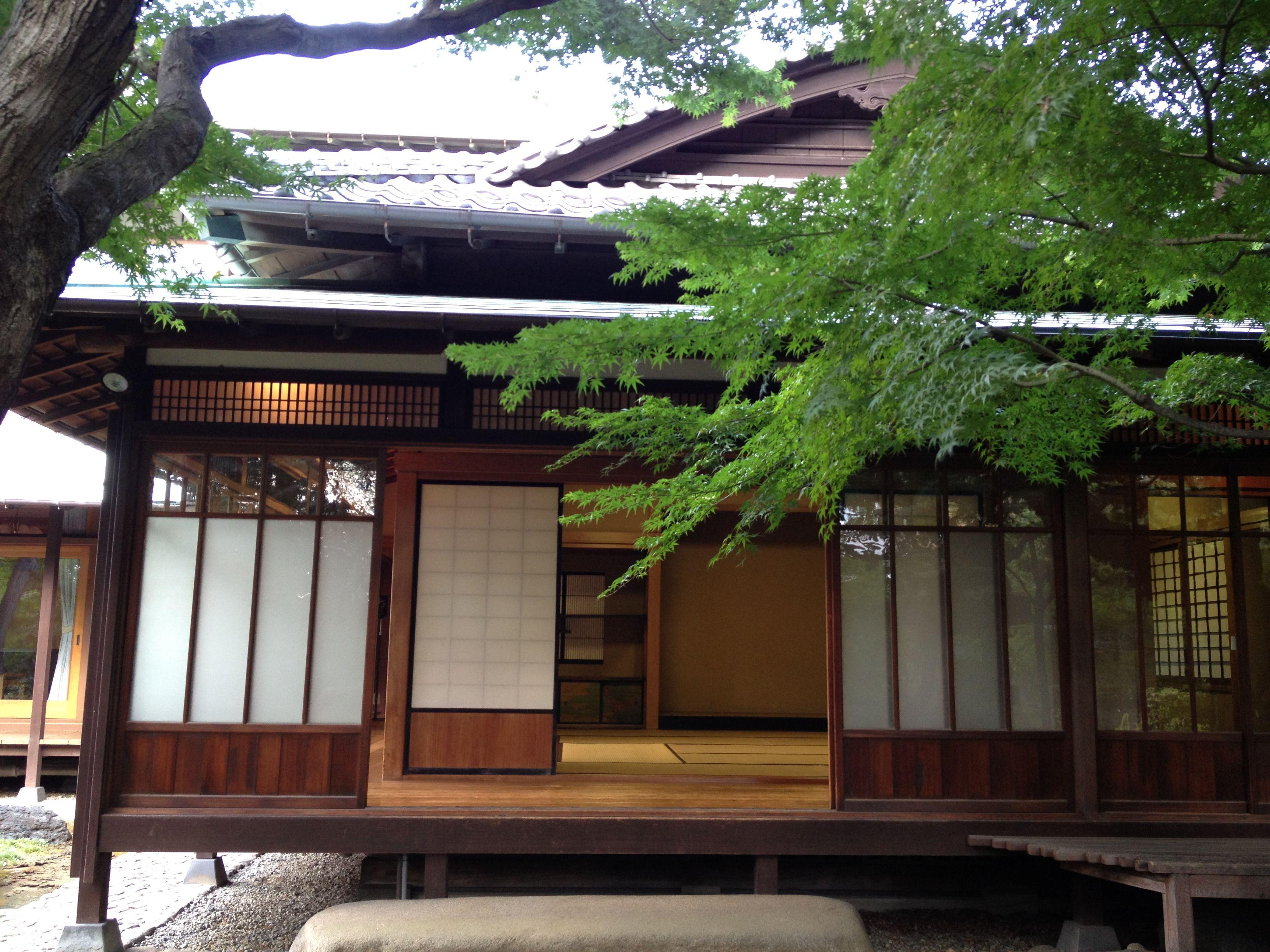 Asakura's house in Daikanyama.
