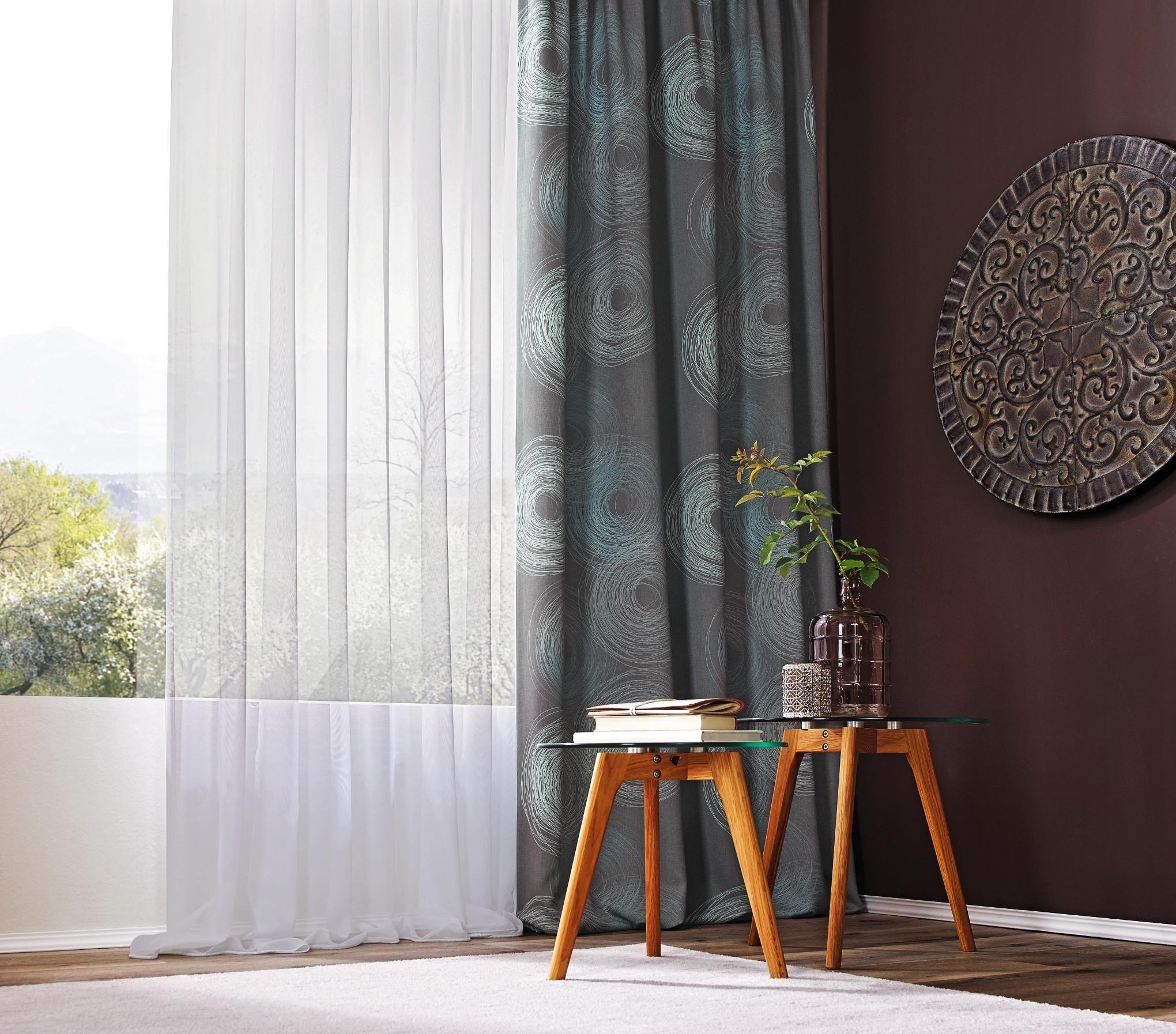 vorhangstoff per lfm verdunkelung vorh nge pinterest vorh nge. Black Bedroom Furniture Sets. Home Design Ideas