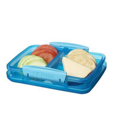 Love this Blue 118 Oz Split Container by Sistema on zulily