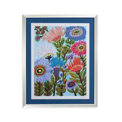 Harriet Bee 'Secret Garden Floral IV' Framed Print