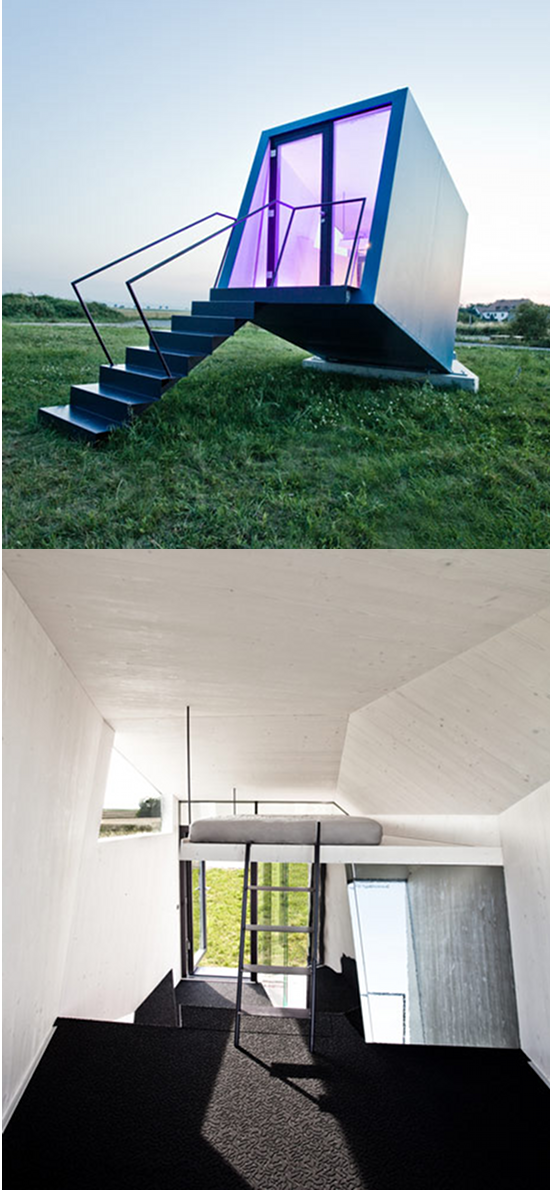 Space Engine Room: The Hypercubus By Architects WG3: A Portable Dwelling With
