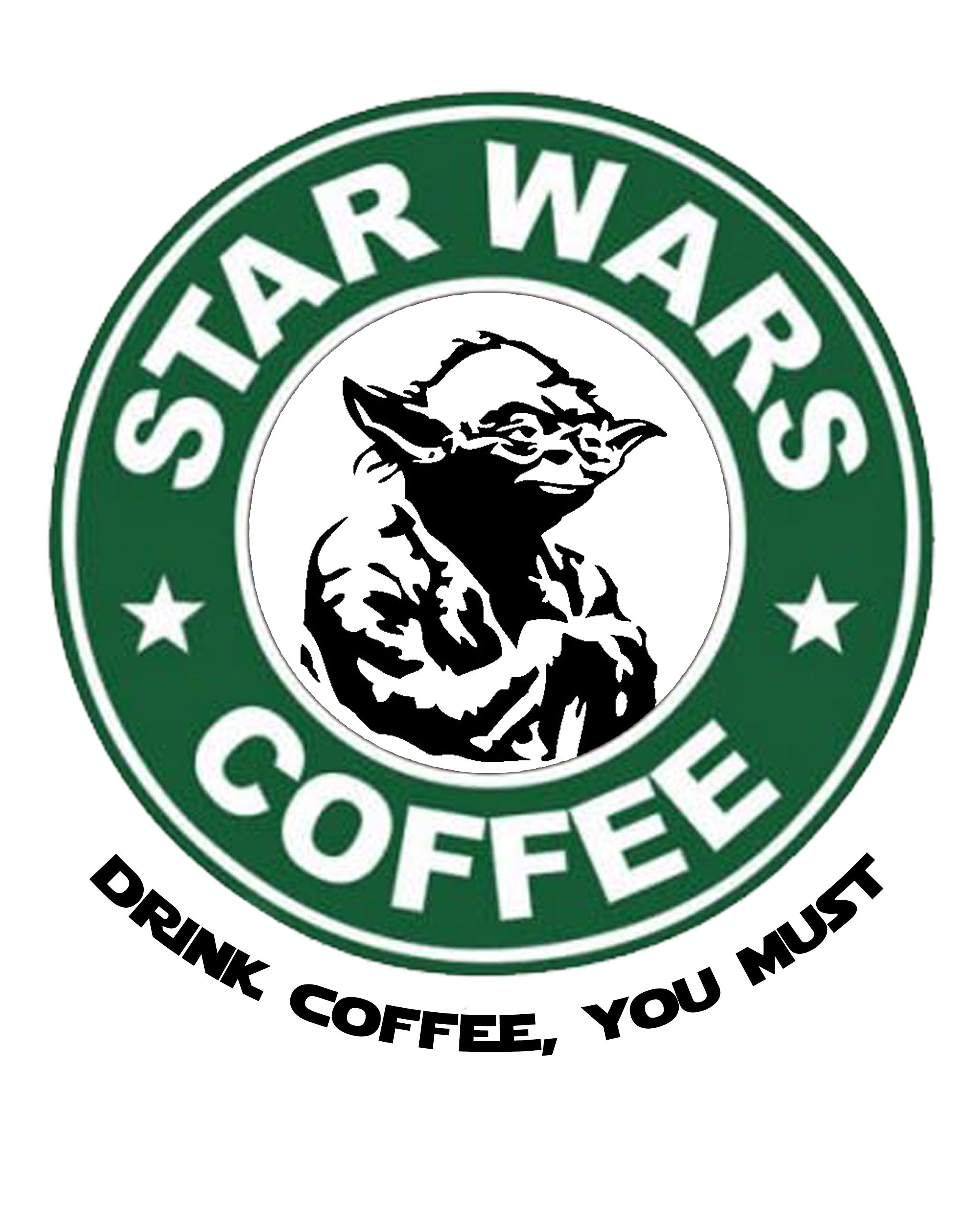 image relating to Printable Starbucks Logos referred to as Free of charge Star Wars Printables with a Espresso Topic espresso