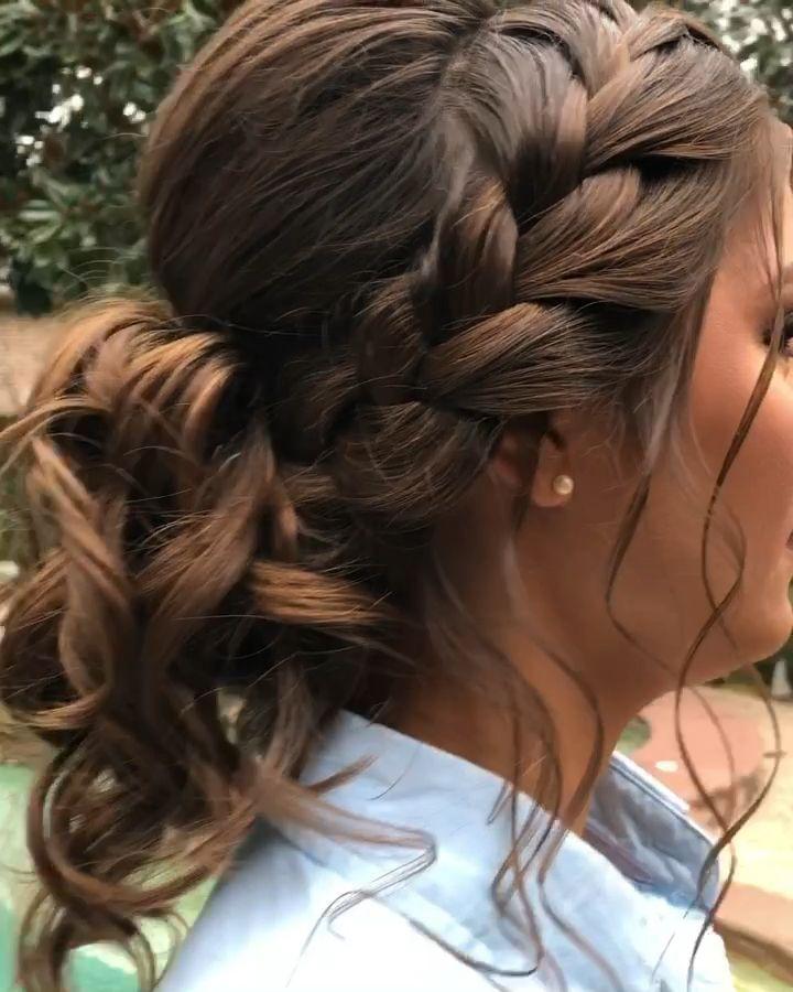 Hairstyles Updo Videos Korean #hairstylesforlittlegirls # ...
