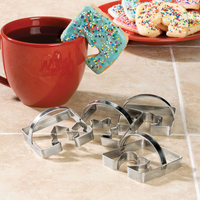 Coffee Cup Cookie Cutters, Set of 4 for $3.99, down from $14.95!
