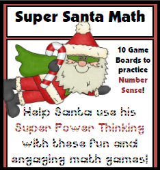 Super Santa Math Pack