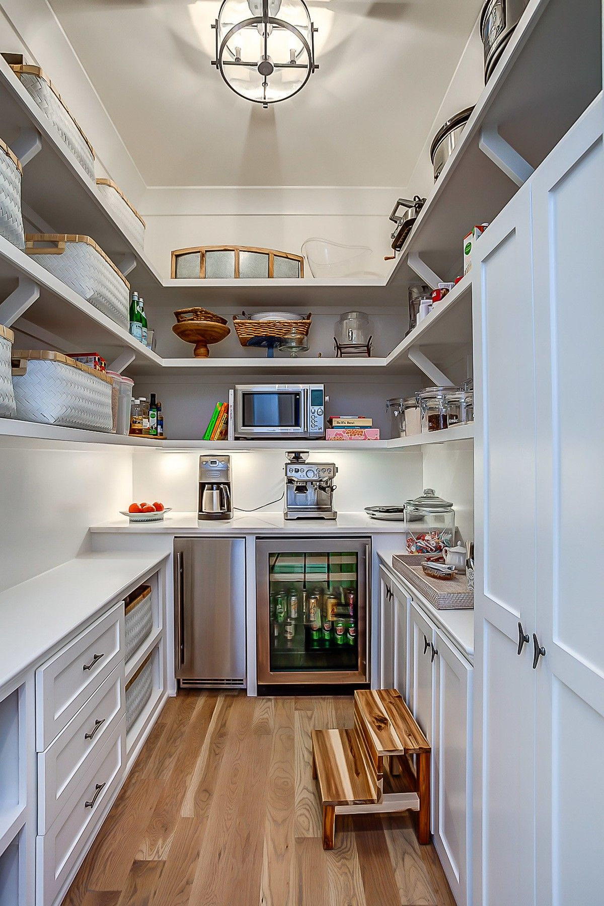 This Spacious Pantry Acts As A Second Kitchen, A Popular