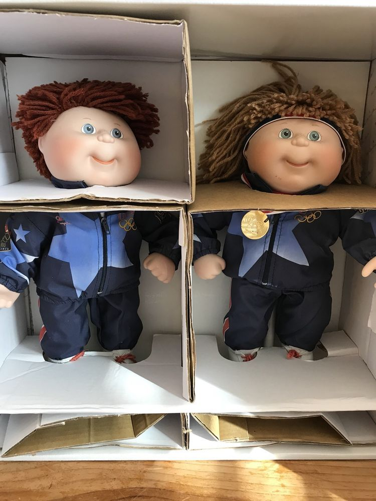 Cabbage Patch Kids 1996 Olympikids Porcelain Dolls Olympics Cpk Danbury Mint Porcelain Dolls Value Porcelain Dolls For Sale Porcelain Doll Molds