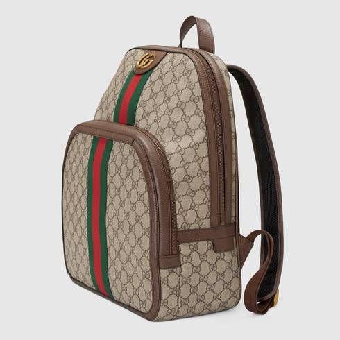 ec7c46401e5 Zaino Ophidia in GG Supreme media - Gucci Zaini Uomo 5479679U8BT8994
