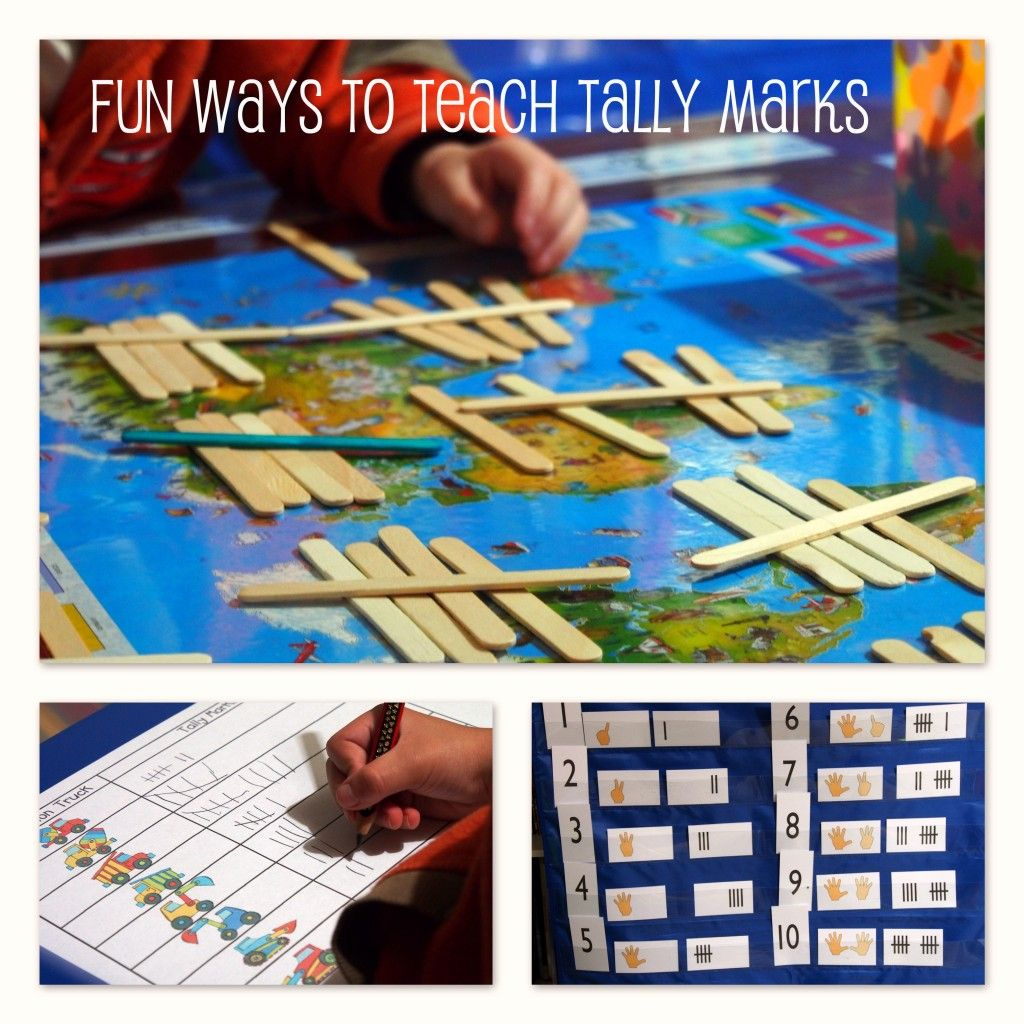 Fun Ways To Teach Tally Counting With Images