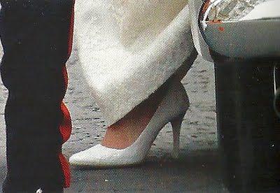 Scarpe Sposa Kate Middleton.The Royal Wedding Kate Middleton S Wedding Shoes Kate Middleton