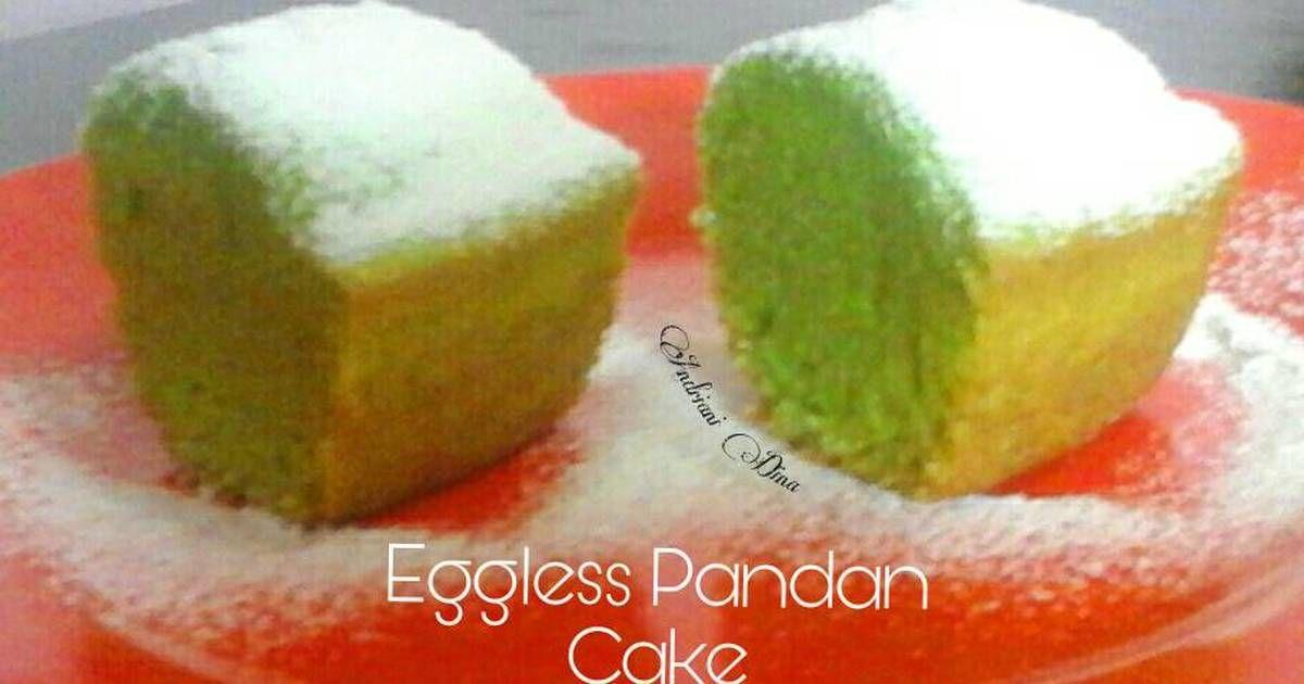 Resep Eggless Pandan Cake No Mixer No Telur No Mentega Oleh Dhy Resep Bolu Pandan Telur Mentega