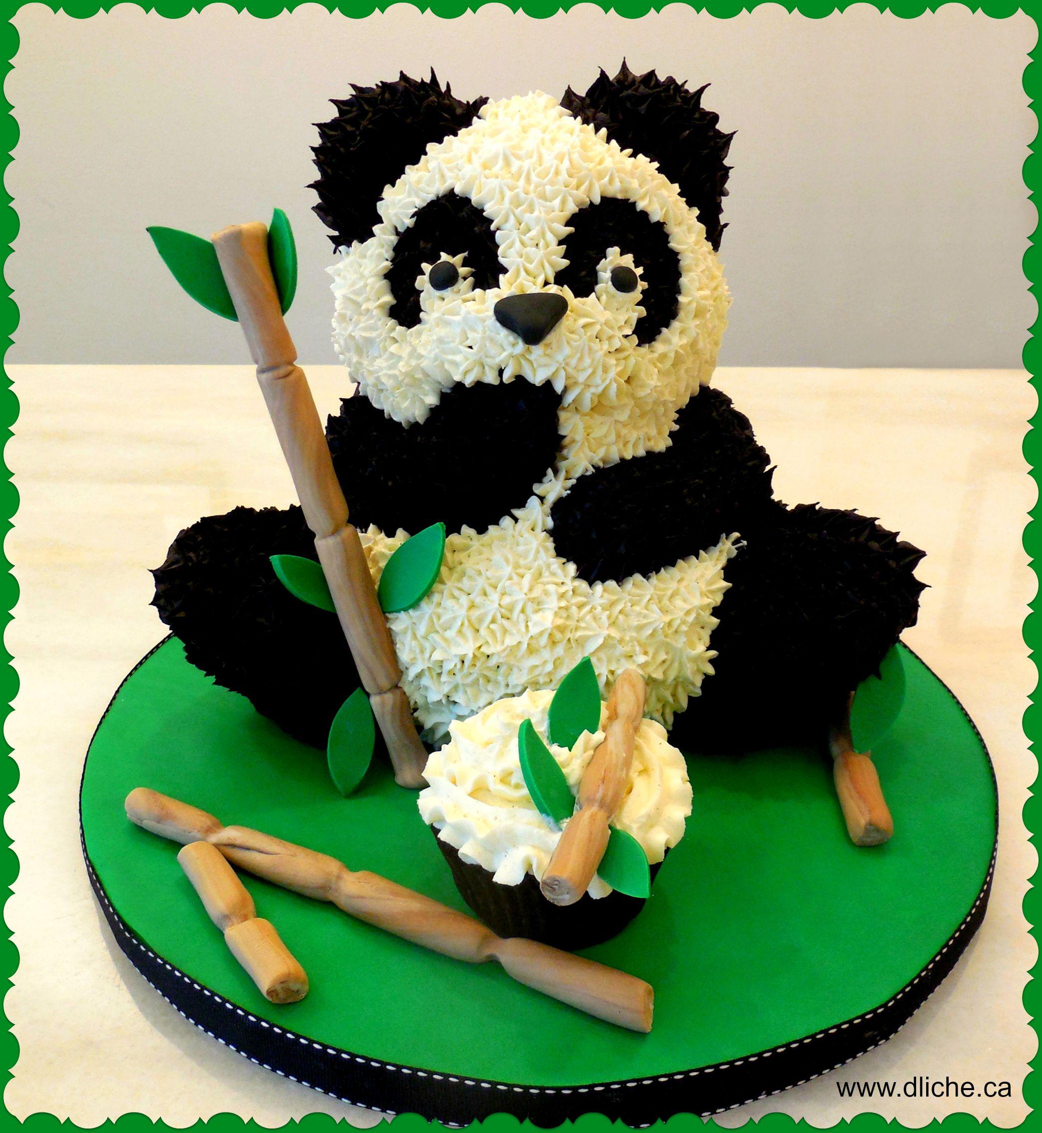 Populaire Gâteau panda! Panda cake! | gâteaux pate à sucre | Pinterest  UL12