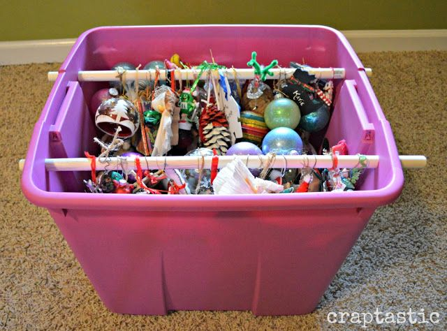 Christmas ornament storage DIY Home Pinterest Christmas