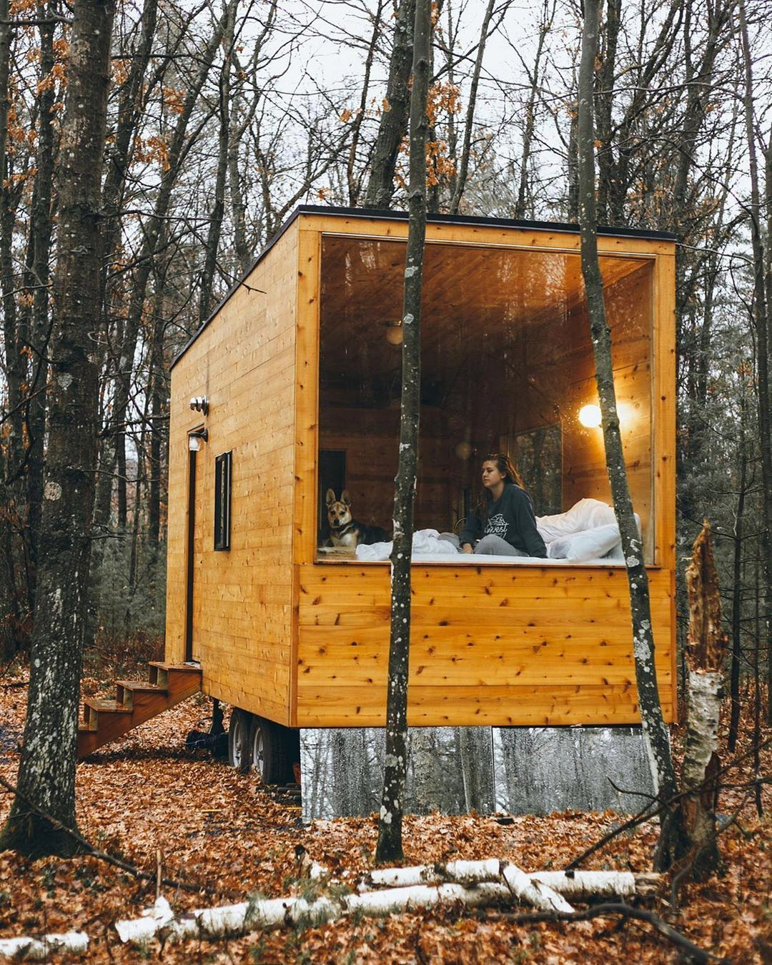 "Tiny Homes on Instagram: ""Follow us"