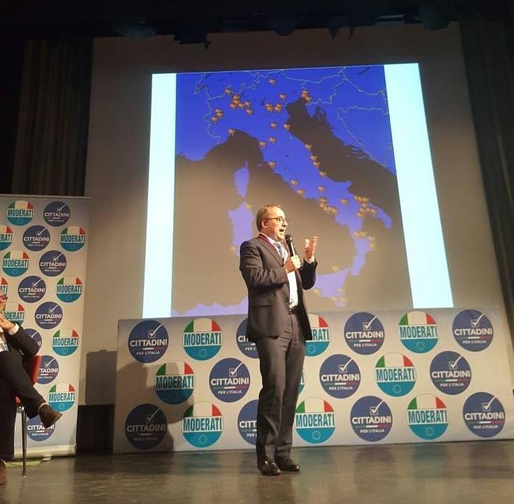 """ON. Giulio Sottanelli: """"Costruiamo l'Europa per i nostri figli. Ed ora """"Cantiere dei Moderati"""""""