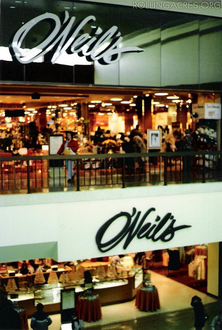 Oneils Department Store Akron Ohio Retro Shopping In 2019